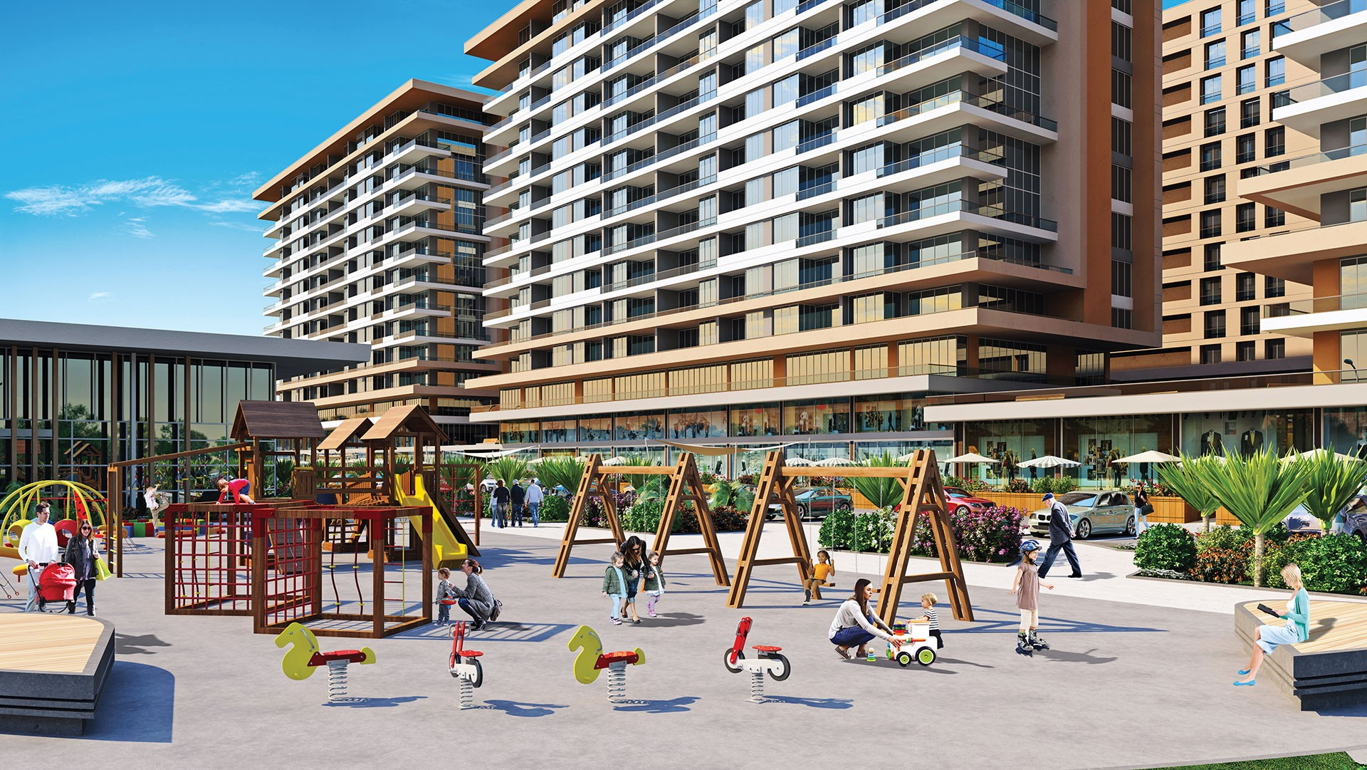 تركيا اسطنبول بيليك دوزو شقق سكنية للبيع في اسطنبول hr-119